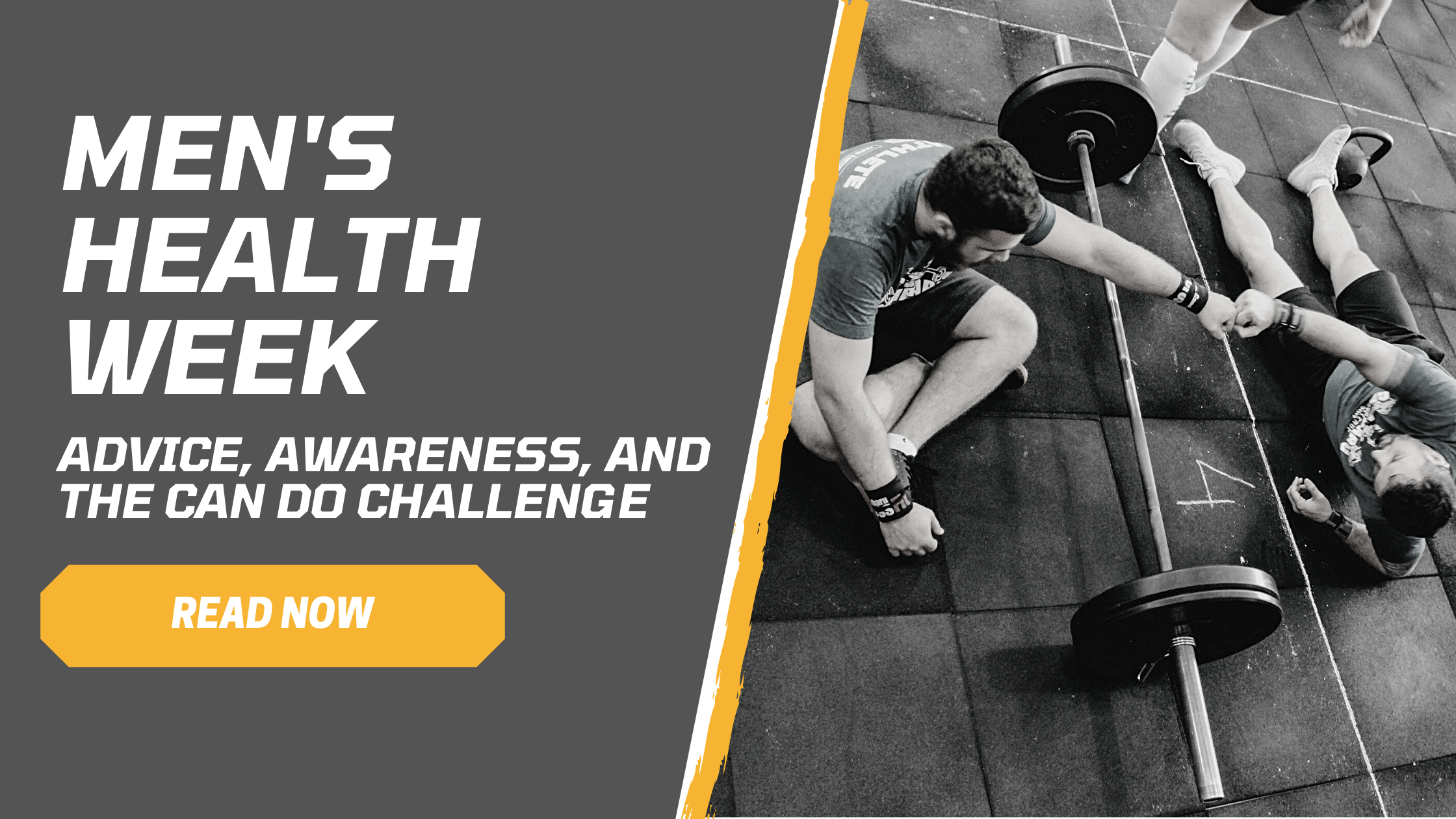 Men's health week advice, awareness, and the CAN DO challenge